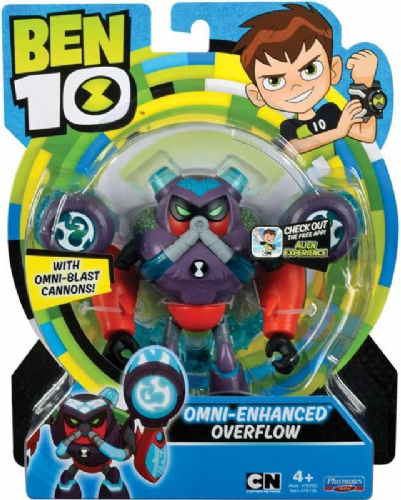 Ben 10 Action Figure - OMNI Enhanced Overflow